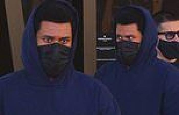The Weeknd rocks a navy blue hoodie as he shops for a luxury watch in Beverly ...