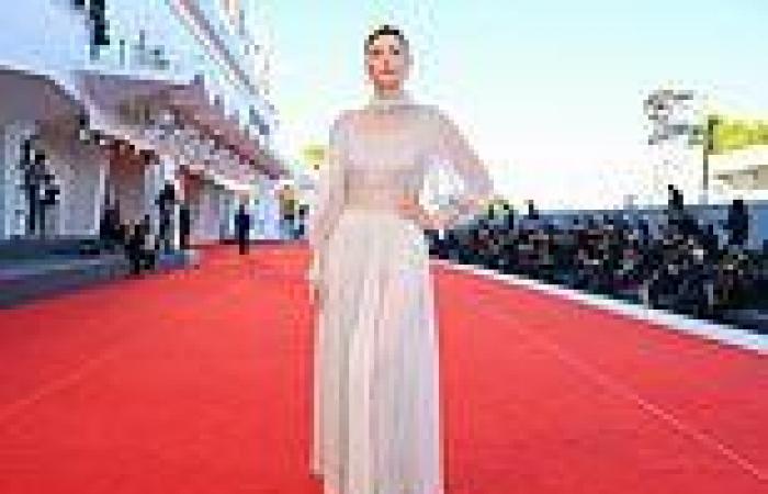 Venice Film Festival 2021: Maria Sharapova dons chiffon gown while Charlotte ...