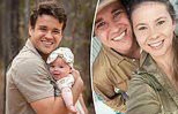 Bindi Irwin shares moving tribute to her husband Chandler Powell on Father's Day