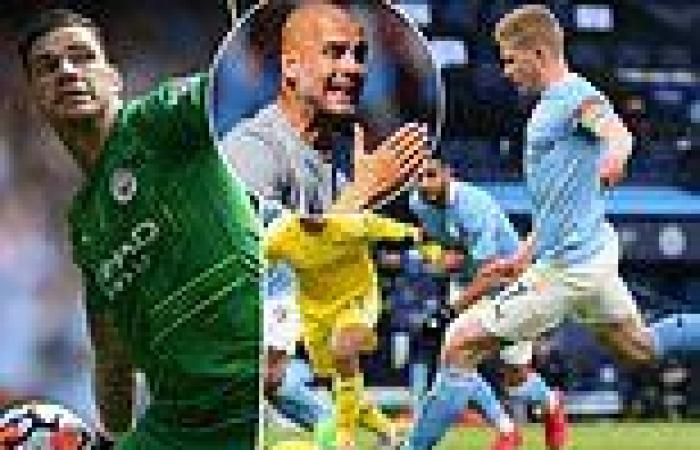 sport news Manchester City goalkeeper Ederson jokes he could replace Kevin de Bruyne in ...
