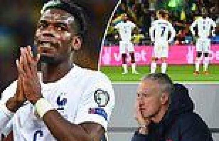 sport news Paul Pogba reveals France's recent poor form 'p***es me off' as midfielder ...