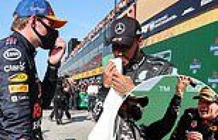 sport news How F1 title rivals Max Verstappen and Lewis Hamilton have fared in their final ...