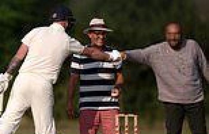 Afghans who fled country after Taliban retook power play cricket match against ...