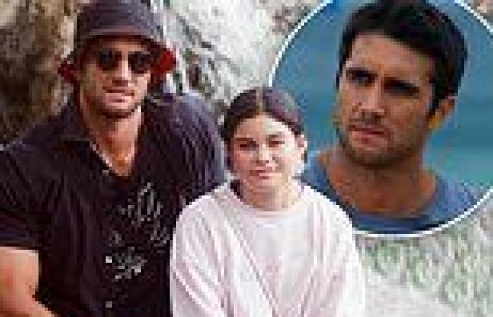 Home and Away star Ethan Browne wishes his teenage daughter a happy birthday