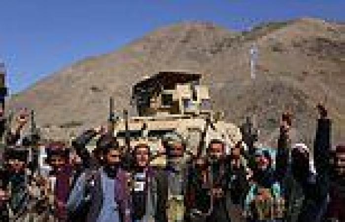 'Our resistance will continue': Son of the 'Lion of Panjshir' says his men NOT ...