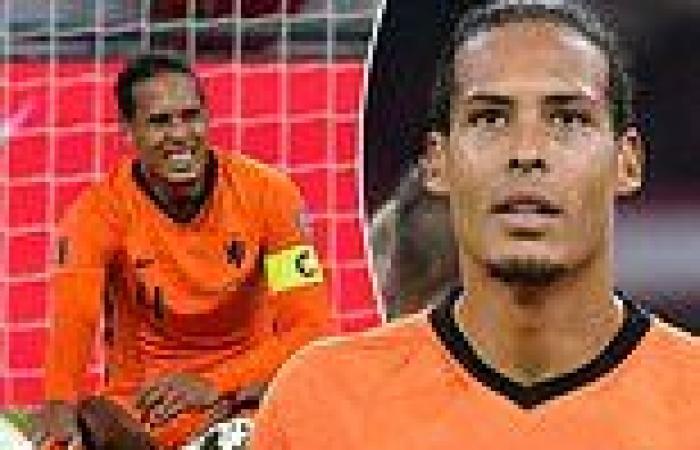 sport news Virgil van Dijk reassures fans he's okay after late injury scare in Netherlands ...