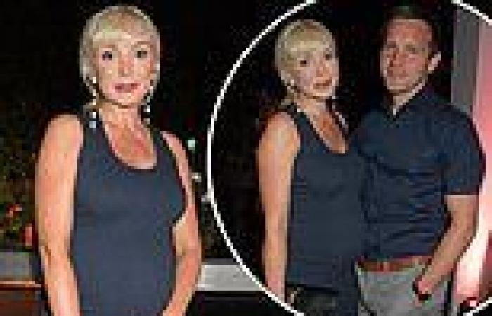 Pregnant Call The Midwife star Helen George displays her bump ina chic navy ...