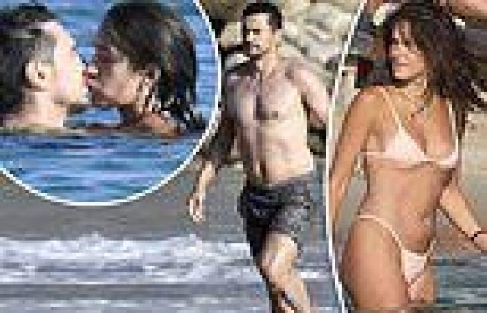 James Franco and his girlfriend Isabel Pakzad show off some steamy PDA in ...