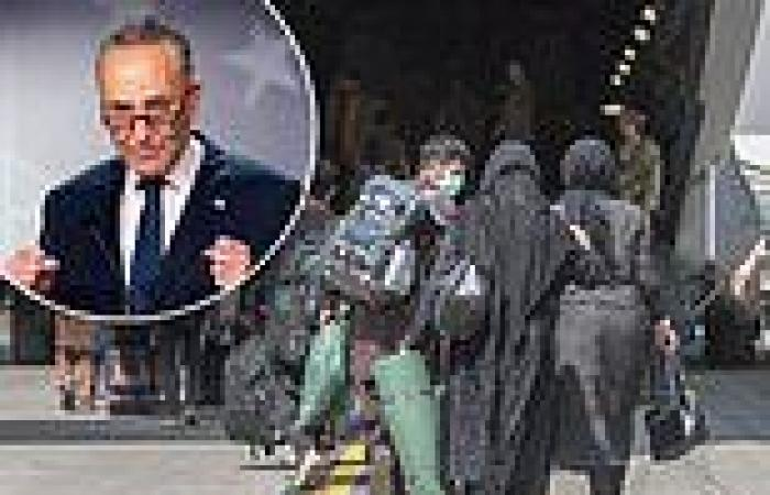 Chuck Schumer lies and says that all Americans who wanted to leave Afghanistan ...