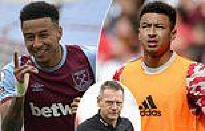 sport news West Ham coach Stuart Pearce insists Jesse Lingard is 'too good' to be a fringe ...
