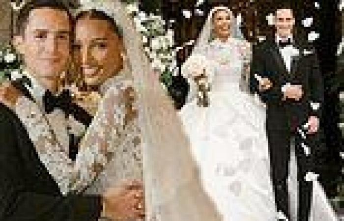Jasmine Tookes marries Snapchat executive Juan David Borrero in Ecuador