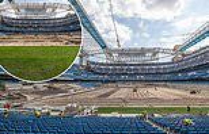 sport news Real Madrid have their construction-site stadium READY for the team's return ...