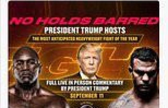 Donald Trump will host Holyfield vs Belfort boxing match in Florida on ...