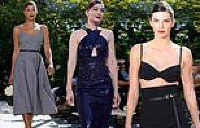 Kendall Jenner makes her NYFW debut at Michael Kors show alongside pals Gigi ...