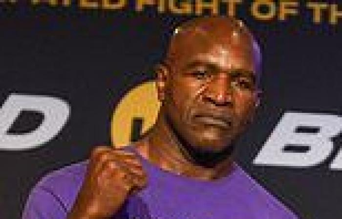 sport news Evander Holyfield's return at 58 is boxing's most depressing show but it's a ...