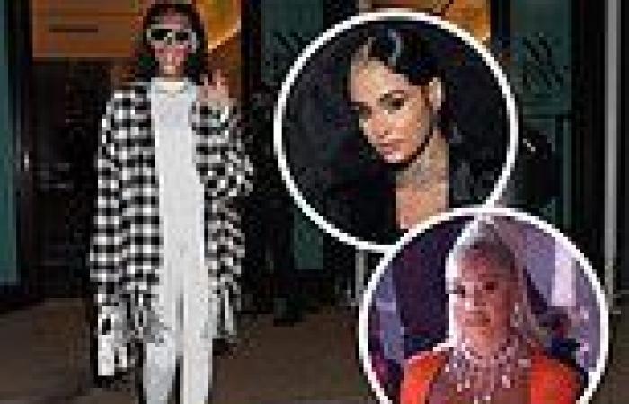 Saweetie and Kehlani watch Winnie Harlow rule the runway at Christian Cowan's ...