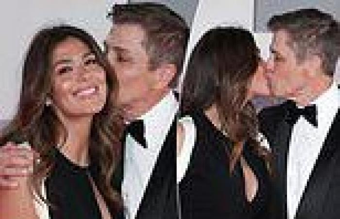 Pia Whitesell and her multimillionaire husband Patrick put on a VERY loved-up ...