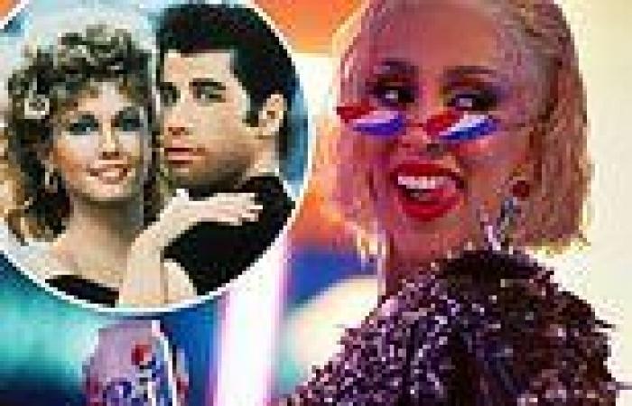 Doja Cat channels Olivia Newton-John's Sandy in a new Grease-inspired Pepsi ad