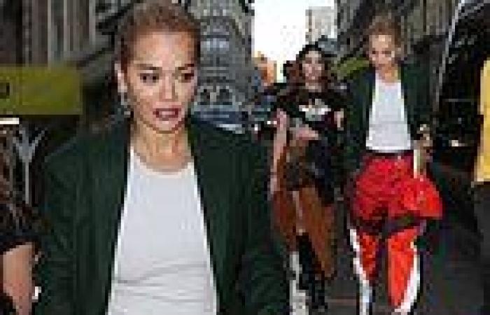 Rita Ora steps out with Ashley Benson during New York Fashion Week