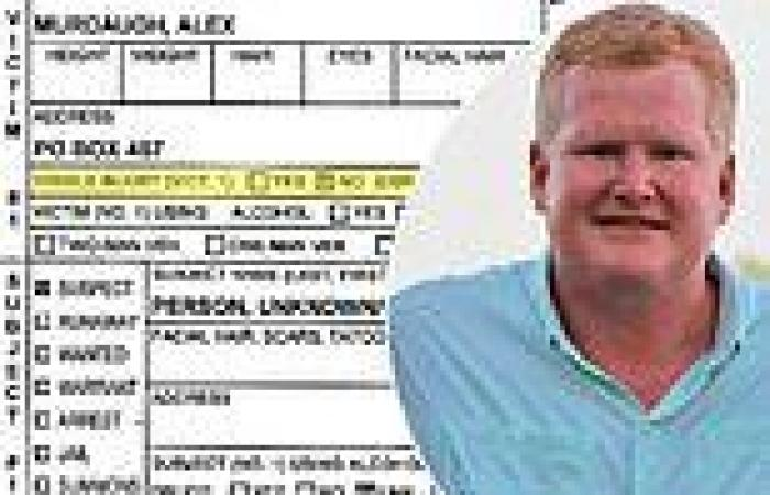 South Carolina deputies admit police report was WRONG and Alex Murdaugh did ...