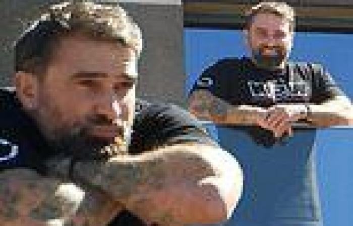 SAS Australia's Chief Instructor Ant Middleton gets some fresh air on his ...