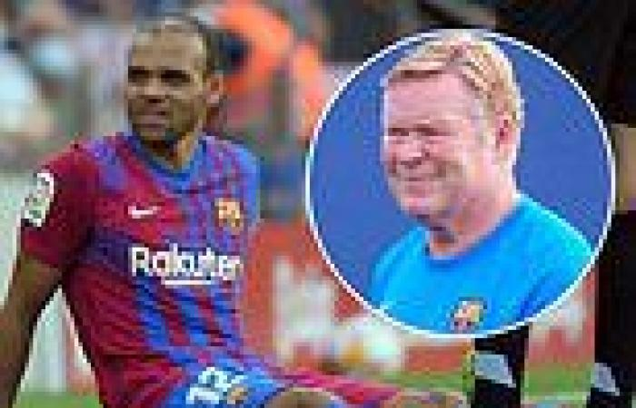 sport news Barcelona suffer injury blow with Martin Braithwaite set to miss up to four ...