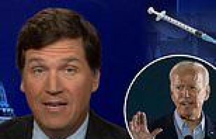 Tucker Carlson blasts Democrats and Biden's White House for flip flopping on ...