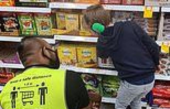 A Victorian father shares kind act on Facebook from a Coles team member during ...