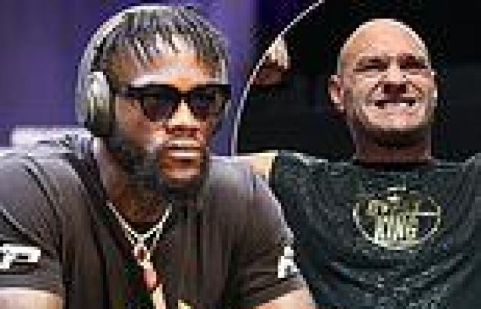 sport news Deontay Wilder demands WBC world title AND full pay if Tyson Fury pulls out of ...
