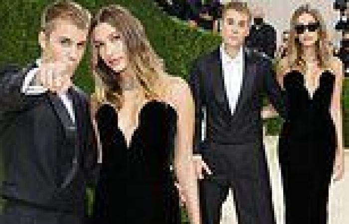 Justin and Hailey Bieber attend first Met Gala together... on their three-year ...