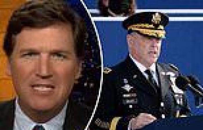 Tucker Carlson slamsMark Milley for calling Trump 'threat to national ...