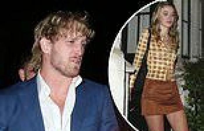Logan Paul keeps a low profile as he leaves Chiltern Firehouse with a mystery ...