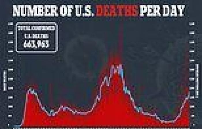 One in 500 Americans has died from Covid since the pandemic began as fourth ...
