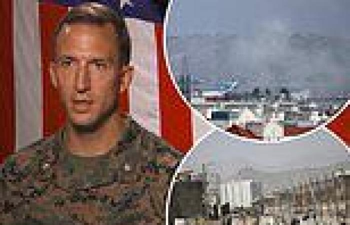 US Marine who stood 15 feet away from Kabul suicide bomber gives first ...