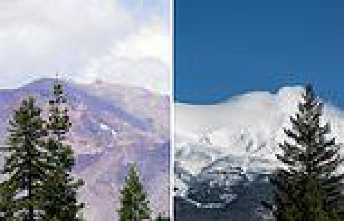 Record high temperatures and drought have left California's Mt. Shasta without ...