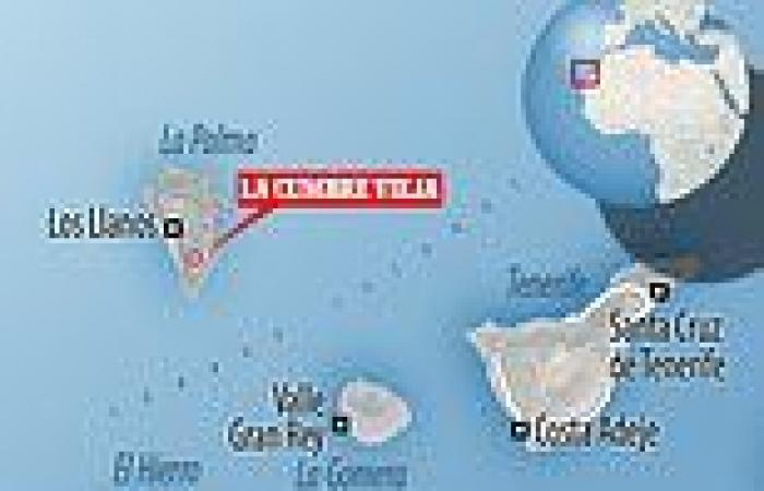 Volcano alert on the Canary Islands' La Palma after almost a THOUSAND ...