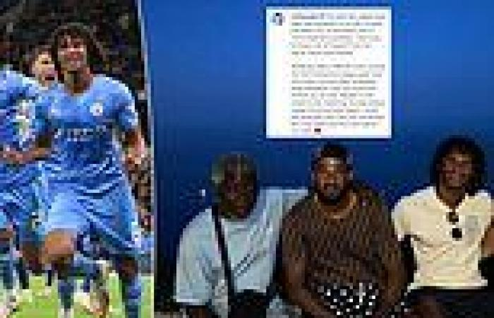 sport news Man City's Nathan Ake reveals his father passed away a few minutes after he ...