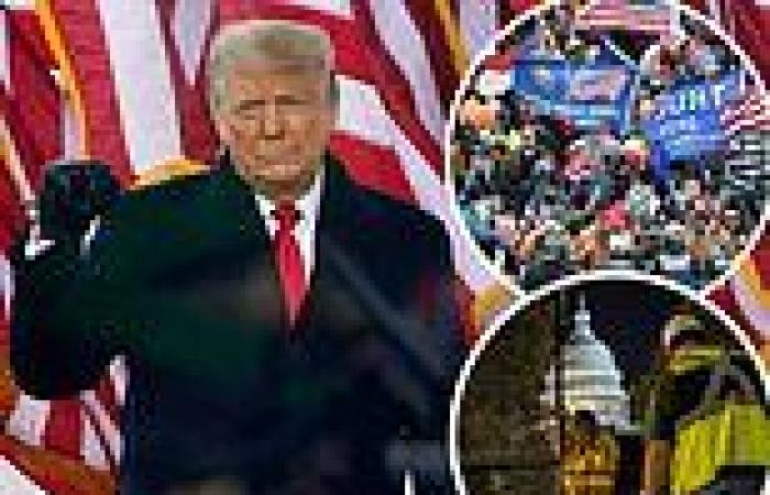 Donald Trump defends Jan 6 rioters ahead of 'Justice for J6' rally
