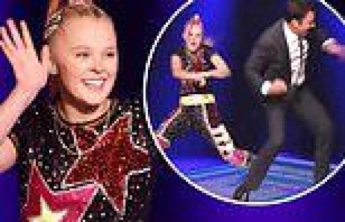 JoJo Siwa gets into a dance-off with Jimmy Fallon and talks her relationship ...