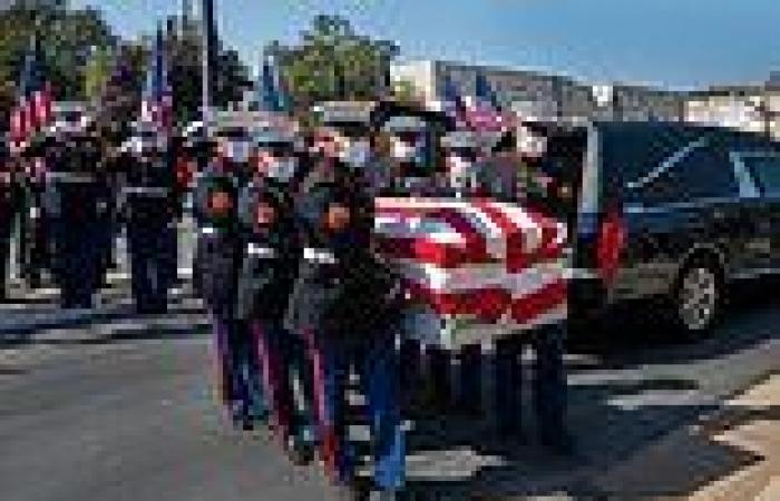 US marine Nicole Gee honored by her community at procession ahead of her ...