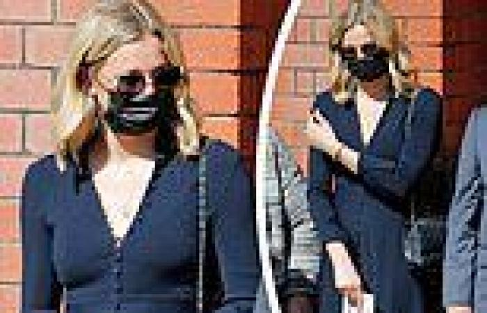 Jasmine Yarbrough attends her grandmother's funeral
