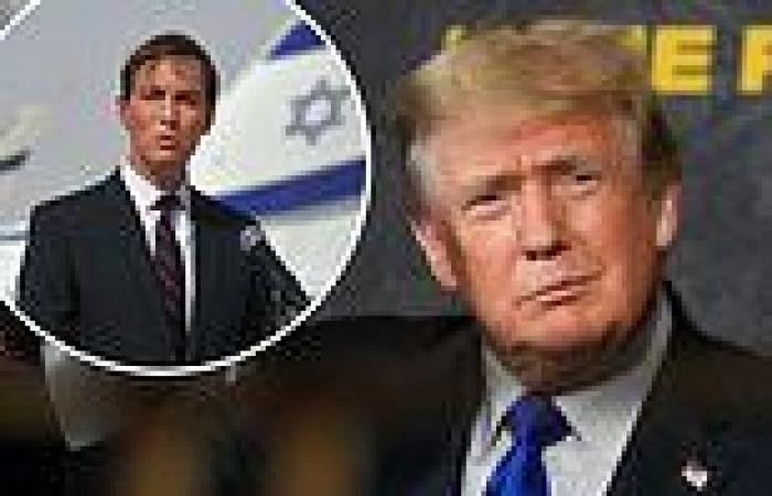 Trump 'evoked anti-Semitic trope to describe Kushner'
