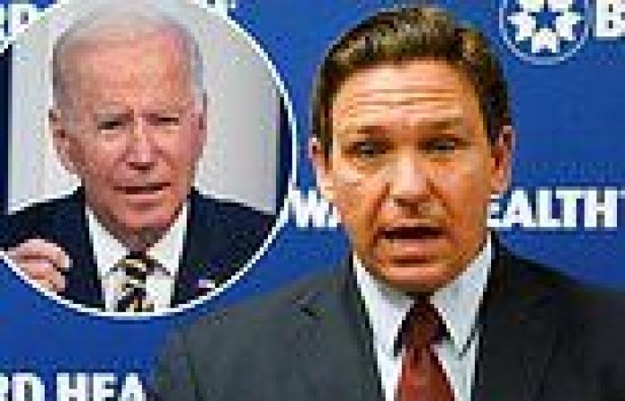 DeSantis slams Biden's 'partisan bitterness' after White House rations COVID ...