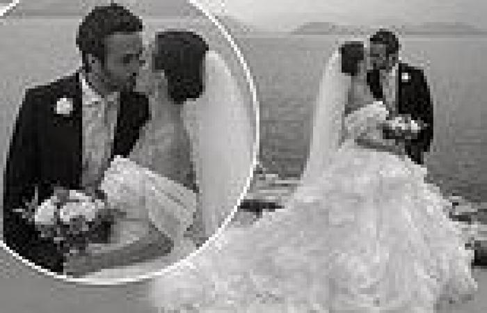 Lucy Watson confirms marriage to James Dunmore
