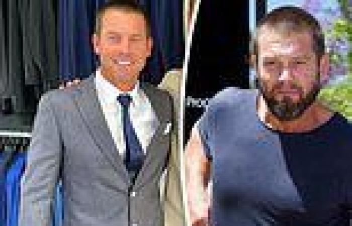 Troubled footy legend Ben Cousins debuts new look ahead of comeback to ...