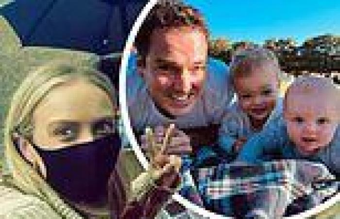 Sylvia Jeffreys picnics with her husband Peter after Sydney relaxes lockdown ...