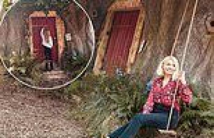 Holly Willoughby and daughter Belle visit Winnie the Pooh's 'real-life' home