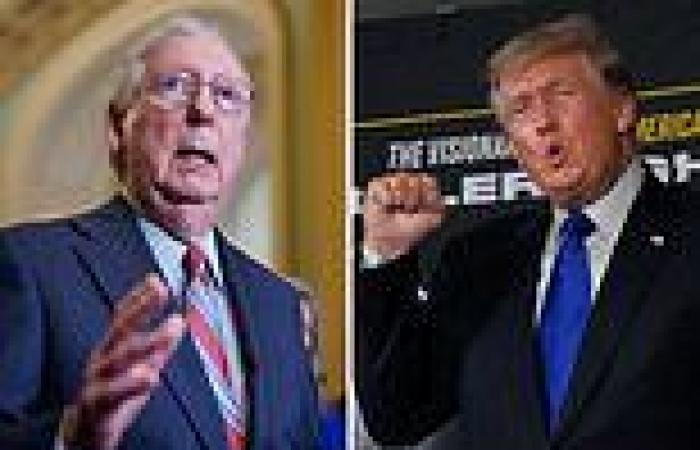 Trump wants to REMOVE Mitch McConnell - but few Republicans are willing to join ...