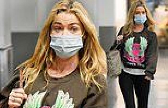 Denise Richards pictured for first time since daughter Sami's abuse claims