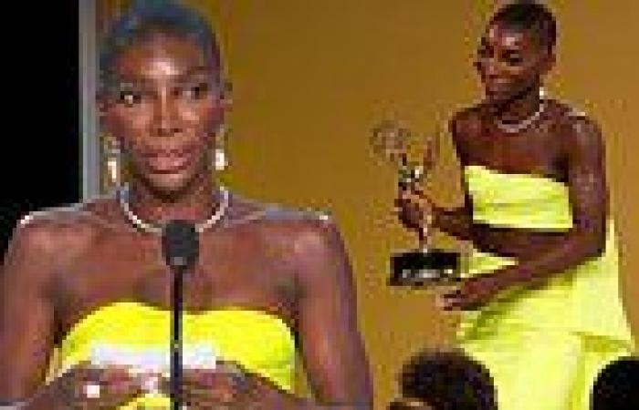 Michaela Coel delivers one of the most memorable speeches in honor of writers ...